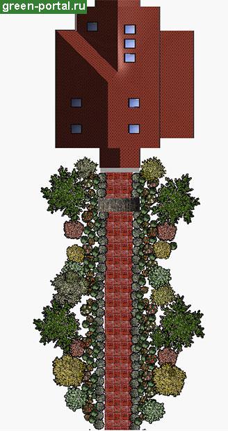3D-схема рабатки